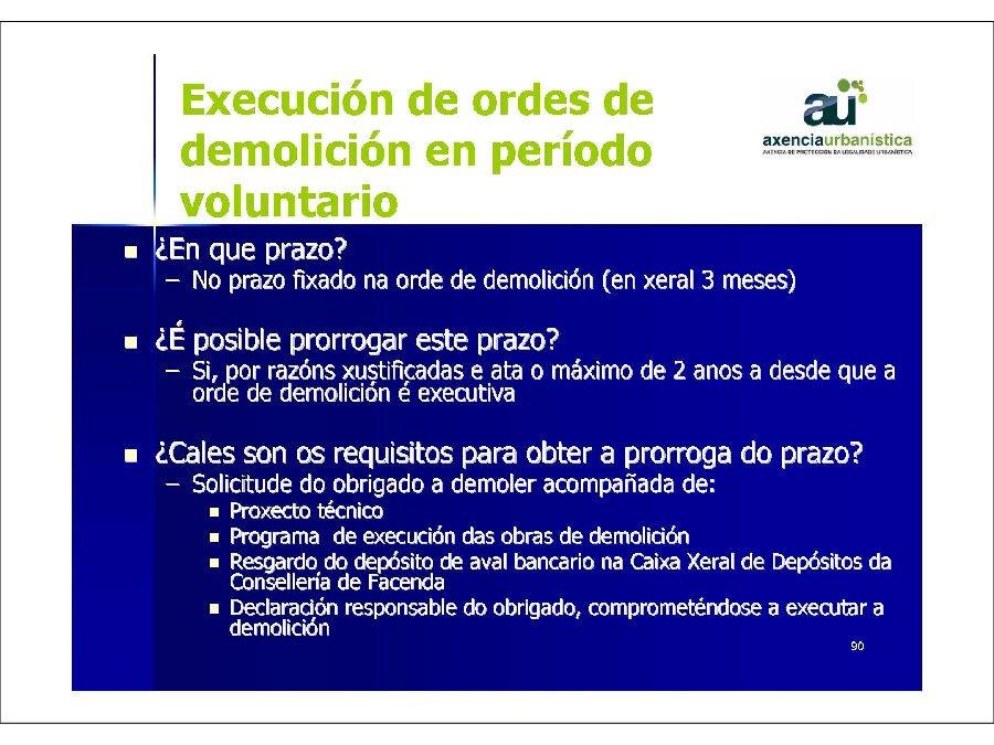 Presentación Hipólito Pérez Novo, director da Axencia de Protección da Legalidade Urbanística.